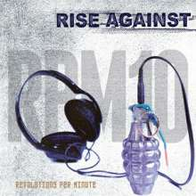 Rise Against: RPM 10: Revolutions Per Minute (Colored Vinyl), LP