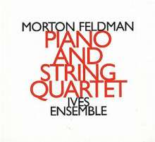 Morton Feldman (1926-1987): Piano & Stringquartet, CD