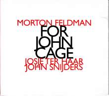 Morton Feldman (1926-1987): For John Cage für Violine & Klavier, CD