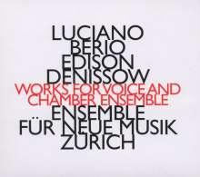 Luciano Berio (1925-2003): Folk Songs für Mezzosopran & Instrumente, CD
