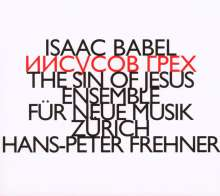 Hans-Peter Frehner (geb. 1953): The Sin of Jesus, CD