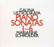 Galina Ustvolskaya (1919-2007): Klaviersonaten Nr.1-6, CD