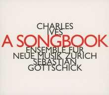 Charles Ives (1874-1954): Lieder für Stimmen & Kammerensemble, CD