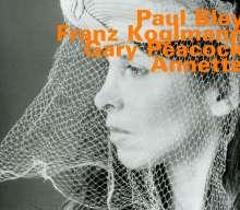 Paul Bley, Franz Koglmann & Gary Peacock: Annette, CD