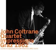 John Coltrane (1926-1967): Impressions Graz 1962, CD