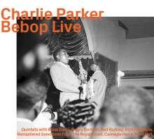 Charlie Parker (1920-1955): Bebop Live, 2 CDs