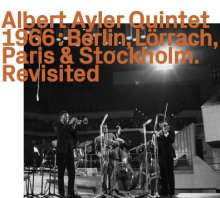 Albert Ayler (1936-1970): Berlin, Lörrach, Paris & Stockholm, 2 CDs