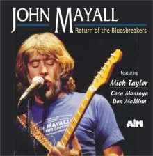 John Mayall: Return Of The Bluesbreakers, CD