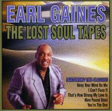 Earl Gaines: Lost Soul Tapes, CD
