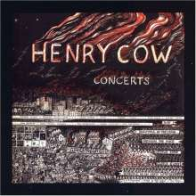 Henry Cow: Concerts, 2 CDs
