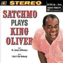 Louis Armstrong (1901-1971): Satchmo Plays King Oliver (180g) (Limited-Edition) (45 RPM), LP