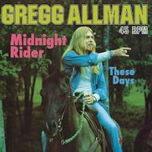 The Allman Brothers Band: Midnight Rider / These Days (180g) (Limited-Edition) (45RPM), Single 12""