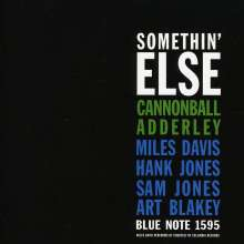 Cannonball Adderley (1928-1975): Somethin' Else, SACD