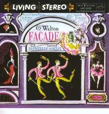 William Walton (1902-1983): Facade, SACD