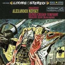 Serge Prokofieff (1891-1953): Alexander Newski-Kantate op.78 (200g), LP
