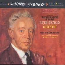 Sergej Rachmaninoff (1873-1943): Paganini-Rhapsodie op.43 für Klavier & Orchester, Super Audio CD