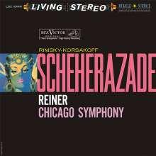 Nikolai Rimsky-Korssakoff (1844-1908): Scheherazade (45rpm / 200g), 2 LPs