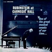 Arthur Rubinstein at Carnegie Hall (200 g/33rpm), LP