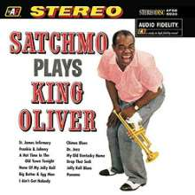 Louis Armstrong (1901-1971): Satchmo Plays King Oliver (200g) (Limited-Edition), LP