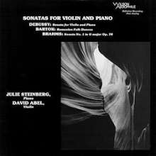 David Abel & Julie Steinberg - Sonatas For Violine And Piano (180g), LP