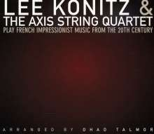 Lee Konitz (1927-2020): Play French Impressionist Music From The 20th Century, CD