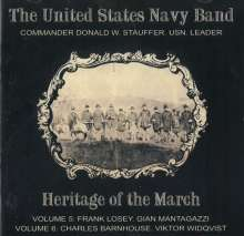 The United States Navy Band: Heritage Of The March Vol. 5 & 6, 2 CDs