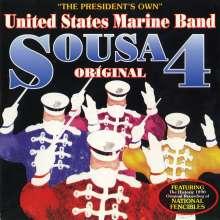 John Philip Sousa (1854-1932): Sousa 4, CD