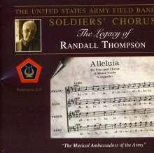 Randall Thompson (1899-1984): Chorwerke, CD