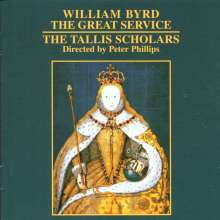 William Byrd (1543-1623): The Great Service, CD