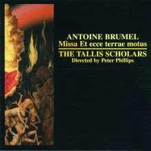 "Antoine Brumel (1460-1520): Messe ""Et ecce terrae motus"", CD"