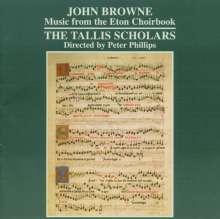 John Browne: Music from the Eton Choirbook, CD