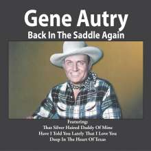 Gene Autry: Back In The Saddle Again, CD