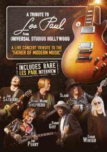 A Tribute To Les Paul: Live From Universal Studios Hollywood, DVD