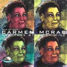 Carmen McRae (1920-1994): Diva Of Jazz: New York State Of Mind, CD