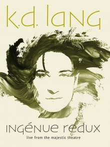 k. d. lang: Ingénue Redux: Live From The Majestic Theatre, Blu-ray Disc