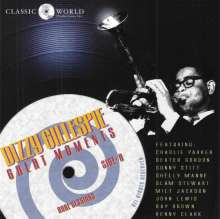 Dizzy Gillespie (1917-1993): Great Moments, CD
