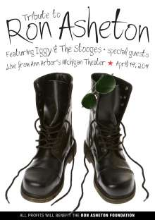 Ron Asheton: Tribute Concert With Iggy & The Stooges, DVD