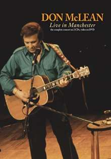 Don McLean: Live In Manchester, DVD