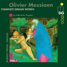 Olivier Messiaen (1908-1992): Orgelwerke Vol.1, CD