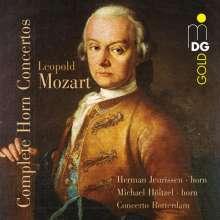 Leopold Mozart (1719-1787): Sämtliche Hornkonzerte, CD