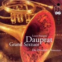 Louis Francois Dauprat (1781-1868): Grand Sextuor für 6 Hörner, CD