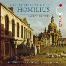 Gottfried August Homilius (1714-1785): Geistliche Motetten, CD