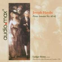Joseph Haydn (1732-1809): Klaviersonaten H16 Nr.50-52, CD