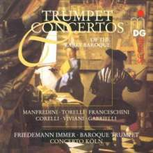 Friedemann Immer - Trumpet Concertos of the Early Baroque, CD