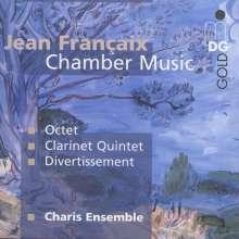 Jean Francaix (1912-1997): Divertissement für Fagott & Streichquintett, CD