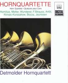 Das Detmolder Hornquartett, CD
