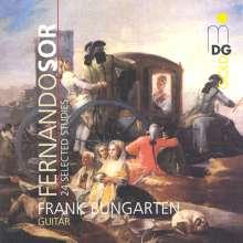 Fernando Sor (1778-1839): 24 Etüden f.Gitarre, CD