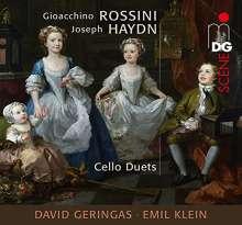 Joseph Haydn (1732-1809): Duette für 2 Celli, CD