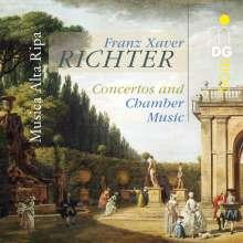 Franz Xaver Richter (1709-1789): Flötenkonzert in G, CD