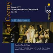 Carl Czerny (1791-1857): Nonett f.Klavier,Bläser & Streicher, CD